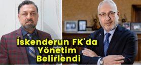 İskenderun FK'Da Yönetim Belirlendi