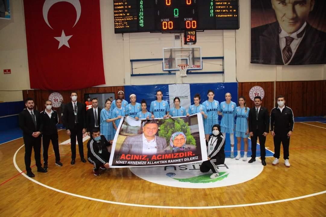 HBB Kadın Basketbol Takımı Adana Basketbol'U68-58 Mağlup Etti