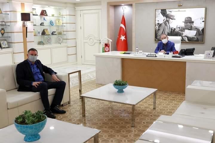 Antalya Belediye Başkanına Geçmiş Olsun Ziyareti