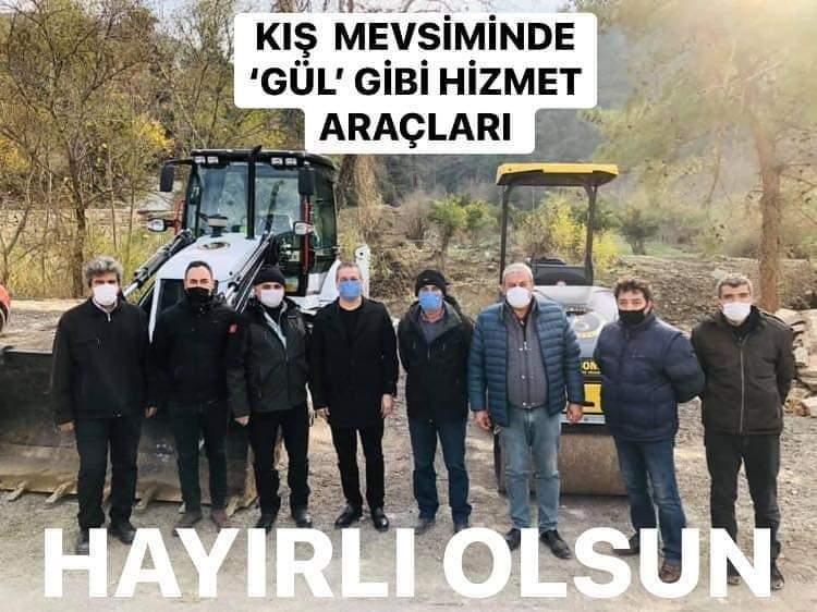 Kış Mevsiminde Belen'E Gül' Gibi Hizmet Araçları..