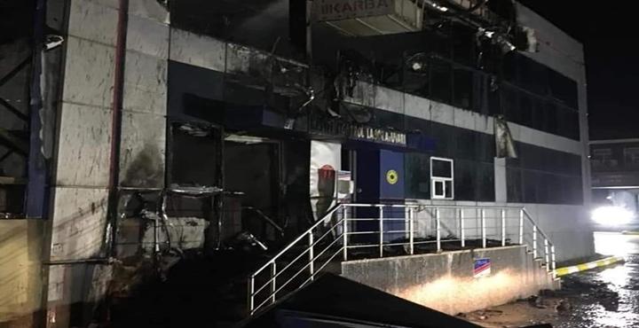 Temizlik Malzemeleri Üreten Fabrikada Çıkan Yangın Söndürüldü
