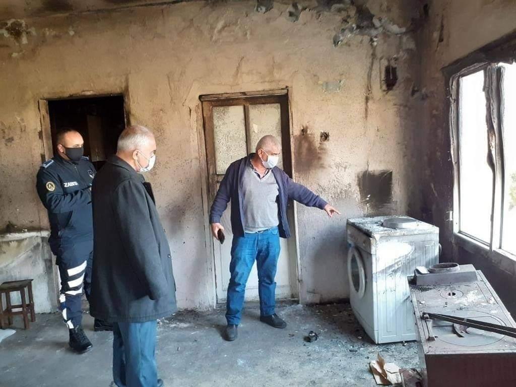 Belen Belediyesinden Gül'Den  Evi yanan Kore Gazisine Destek
