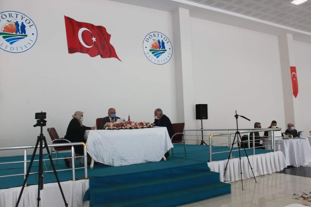 Dörtyol Belediye Meclisi 2021 Yılının İlk Toplantısını Gerçekleştirdi