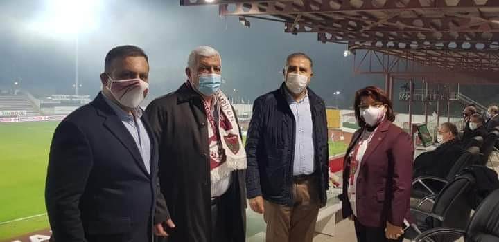 CHP Hatay Milletvekileri Hatayspor İçin Tribünde