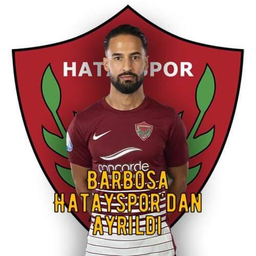 Barbosa Hatayspor'Dan Ayrıldı