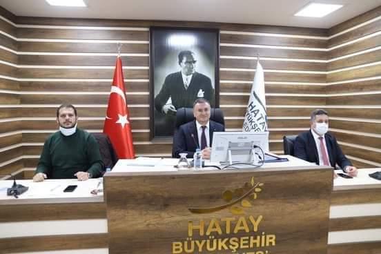 Hatay Büyükşehir Meclisi Toplandı