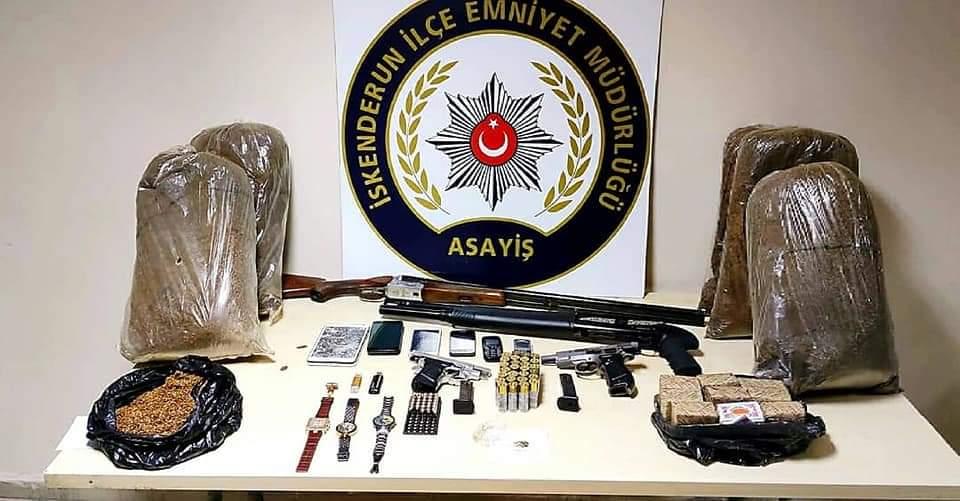 İskenderun'Da Geniş Çaplı Hırsızlık Operasyonu