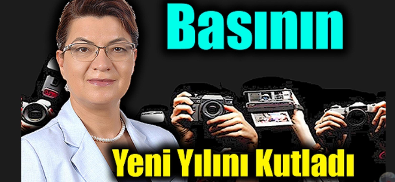 Vekil Şahin, Basının Yeni Yılını Kutladı