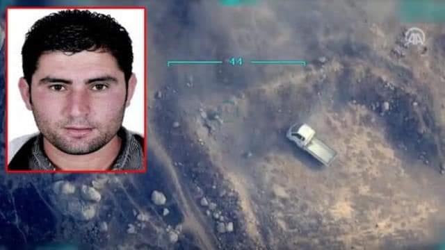 Hatay'Da Kı Yangınların Sorumlusu Teröristin Siha İle Vurulma Anı Ortaya Çıktı