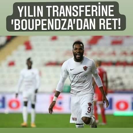 Yılın Transferine, 'Boupenza'Dan Ret