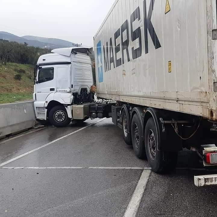 Hatay'In Belen İlçesinde Kıcı Mevkisinde Trafik Kazası Meydana Geldi.