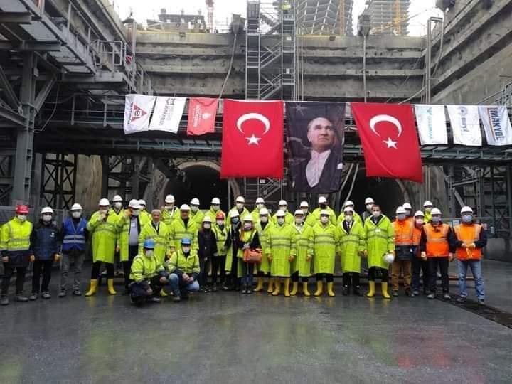 CHP Milletvekili Suzan Şahin İstanbul'Da