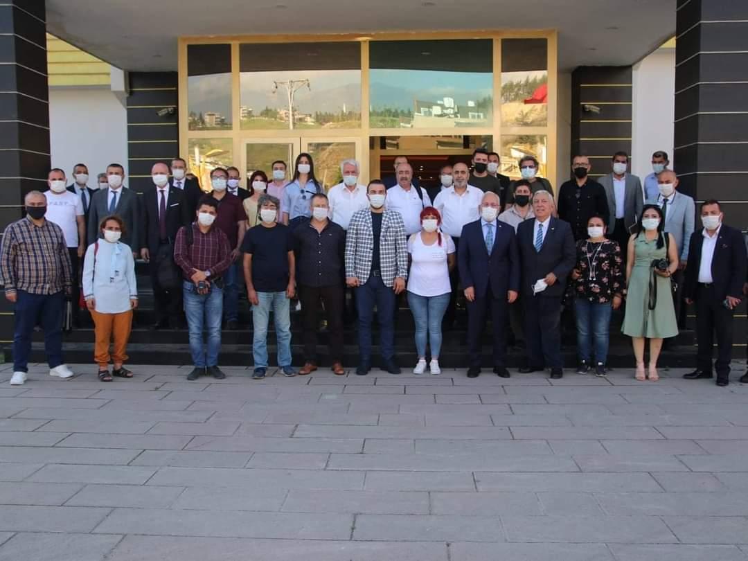 """İskenderun Belediye Başkanı Fatih Tosyalı""""İskenderun' Un İl Olmasını İstiyoruz"""""""