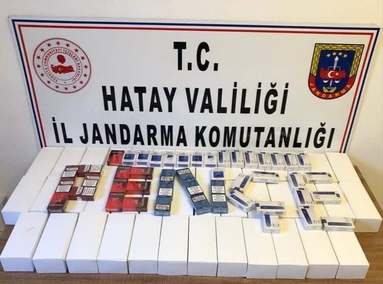 Altınözü'Nde Kaçak Sigara Operasyonu: 1 Gözaltı