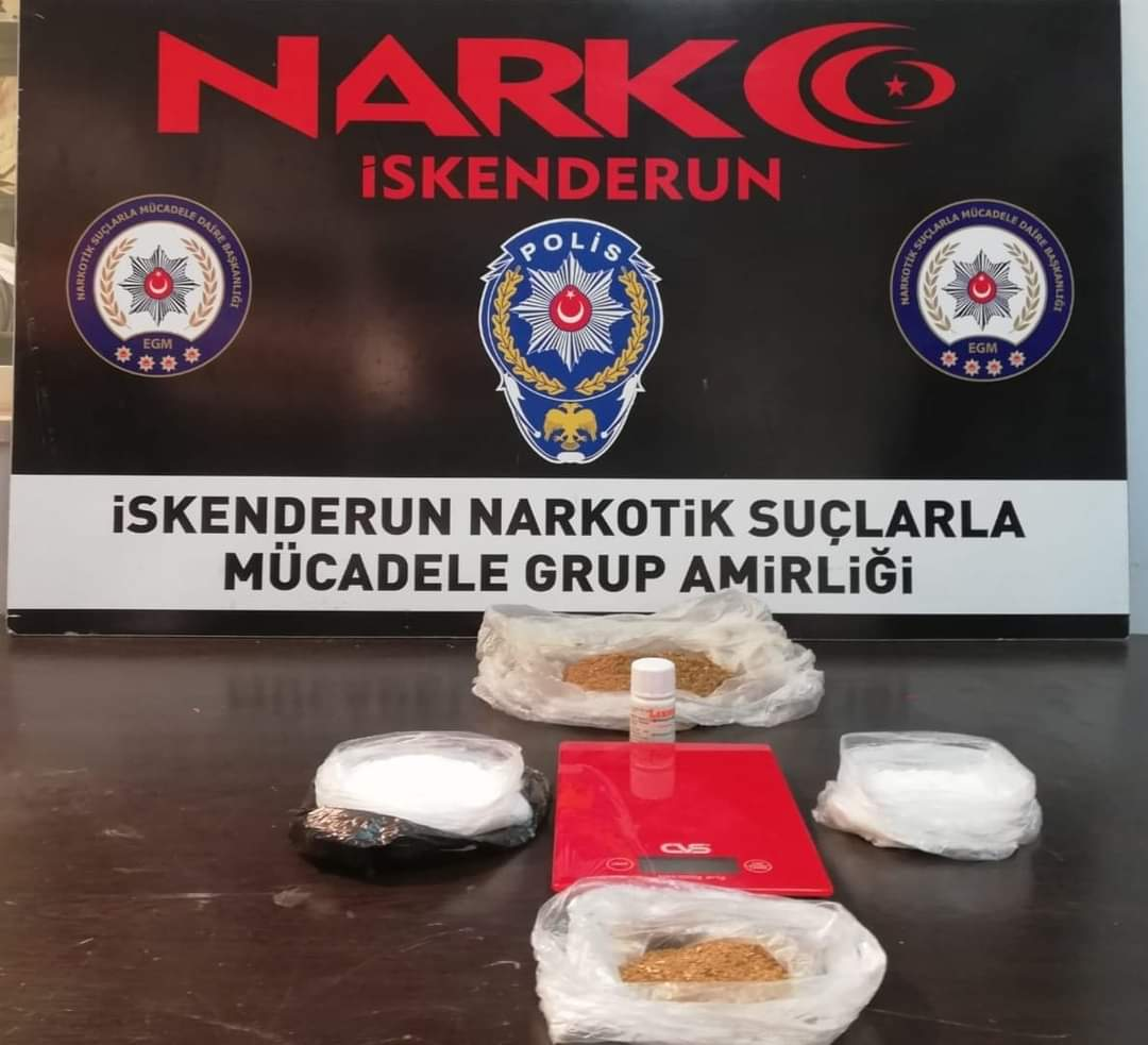 Dörtyol'Da Uyuşturucu Operasyonu: 2 Gözaltı..