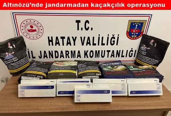 Altınözü'Nde jandarmadan Kaçakçılık Operasyonu