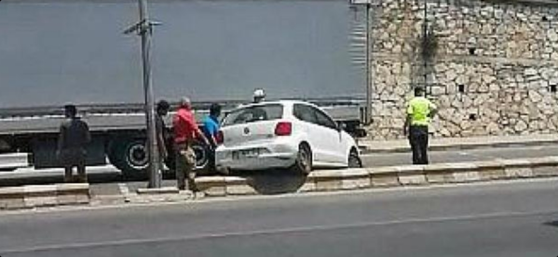 Belen İlçesinde Otomobil Kazası