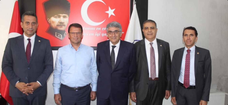 CHP PM Üyesi Ali Mahir Başarır'Dan Başkan Eryılmaz'A Ziyaret