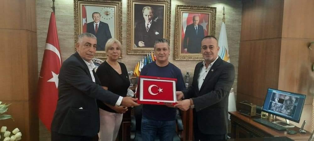Vatanı Sevenler Federasyonu Gül'E Ziyaret