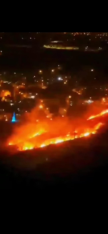 Hatay'In Merkez İlçesi Antakya'Da, Bir Mahalledeki Otluk Alanda Çıkan Yangın Kontrol Altına Alındı.