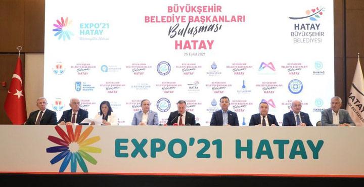 CHP'li Büyükşehir Belediye Başkanları Hatay'da Buluştu