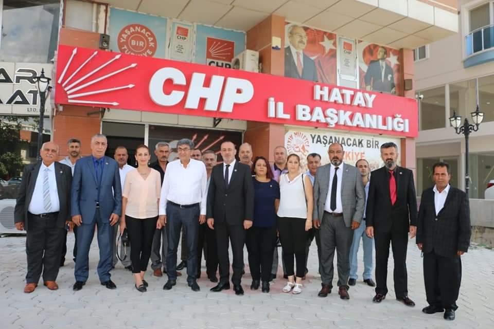 Hatay Vatanını Sevenler Federasyon'Undan CHP Hatay İl Başkanı Ziyaret