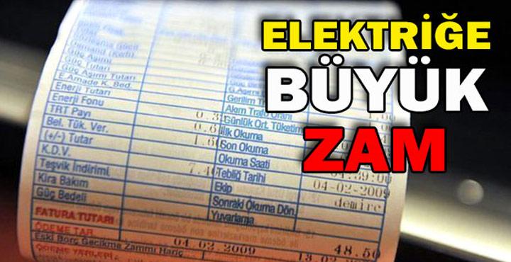 EPDK Elektrik Tavan Fiyatlarını %33 Artırdı