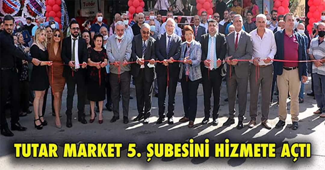 Tutar Market 5.Şubesini Hizmete Açtı