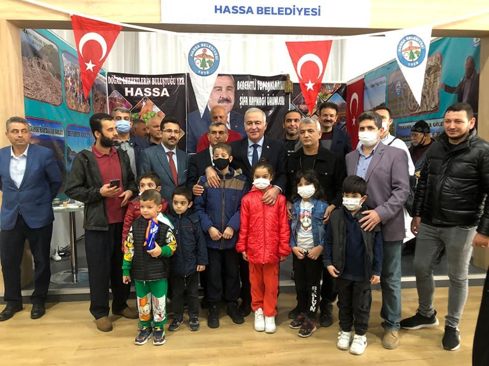 Bakan Yardımcısı İsmail Ergüneş,Hatay Tanıtım Günlerinde