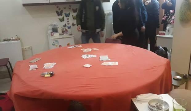 Mardin'de kumar oynayan 18 kişiye 56 bin lira ceza
