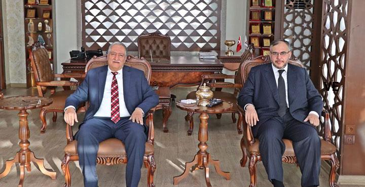 Hesob Başkanı Teksöz'den Çalışkan'a Ziyaret