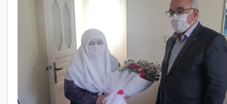 Başkan Fadıl Keskin Şehit Annelerini Unutmadı