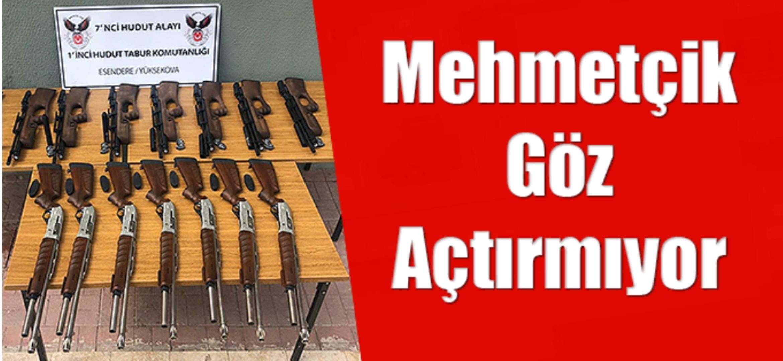 Mehmetçik Hudut'ta kaçakçılara göz açtırmıyor