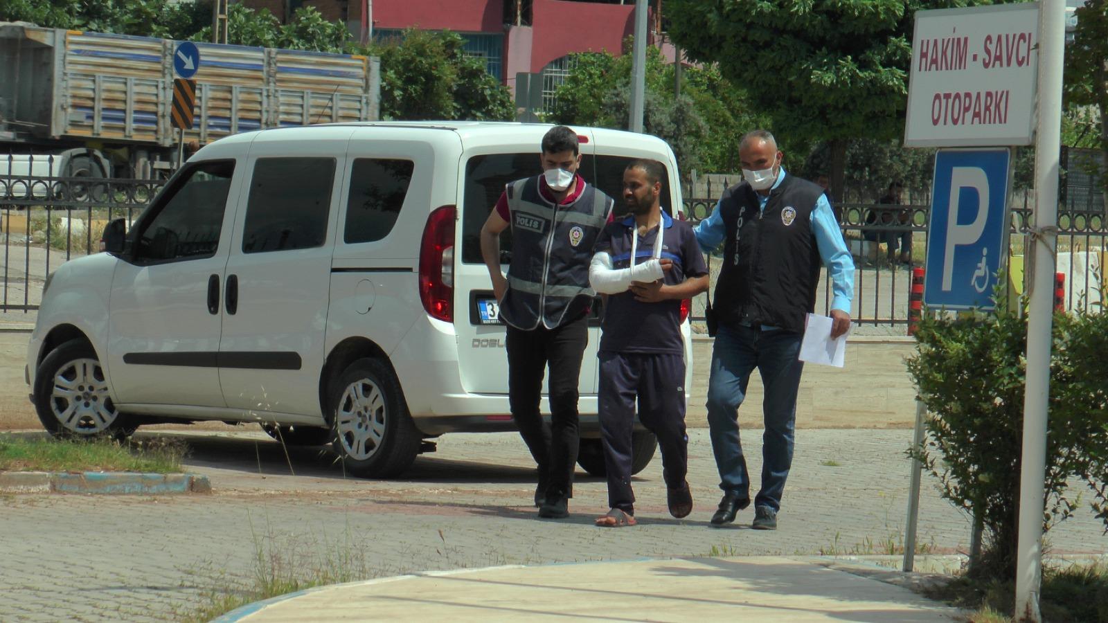 Cezaevi firarisi Kırıkhan'da Yakalandı