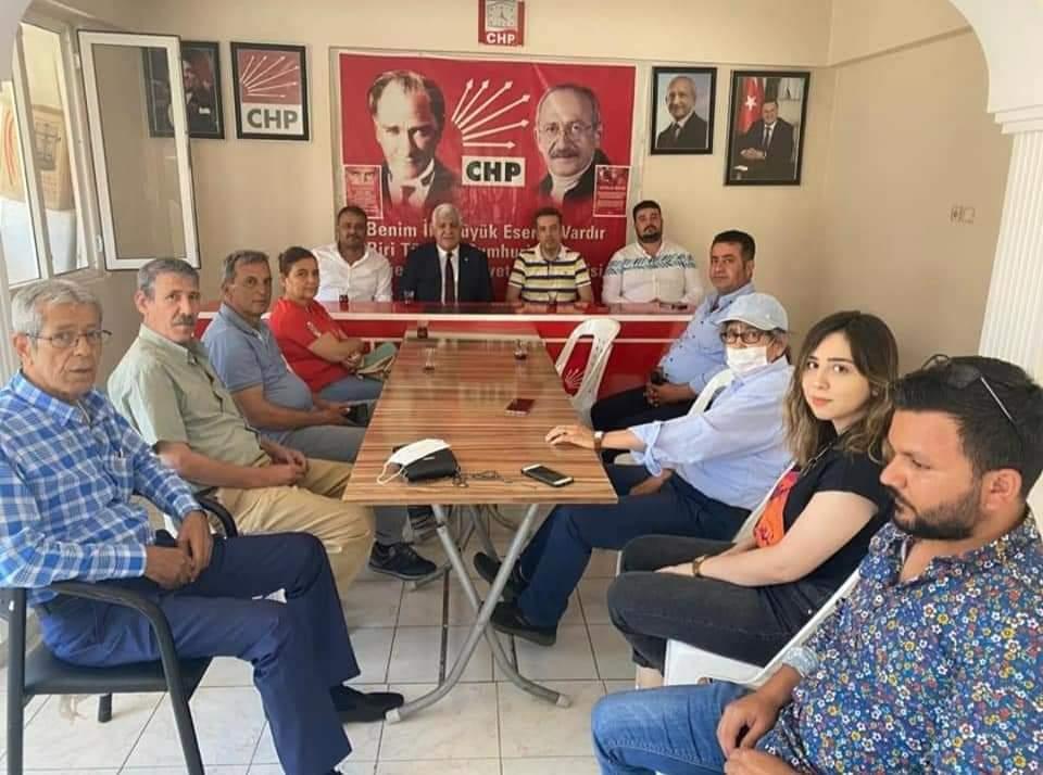 CHP Milletvekili Tokdemir'Esnafları Ve Yeniseçilen Muhtarları Ziyaret Etti.