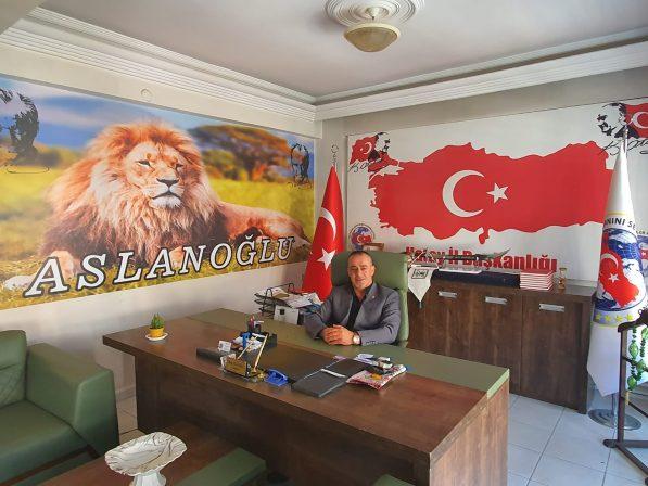 Vatanını Sevenler Federasyonu Hatay İl Başkanı Hasip Aslanoğlu'da Kurban Bayramı Kutlama Mesajı
