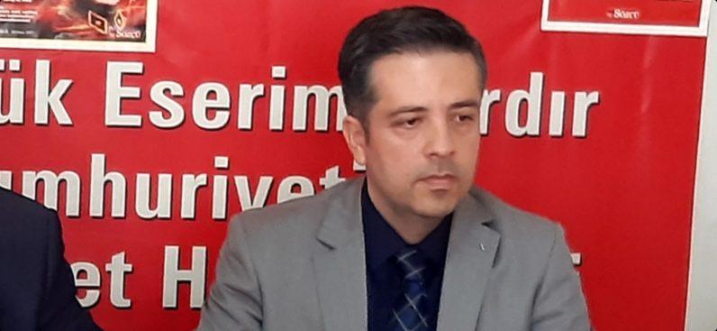 CHP Kırıkhan İlçe Başkanı Mustafa Sıraç'TanKurban Bayramı Mesajı