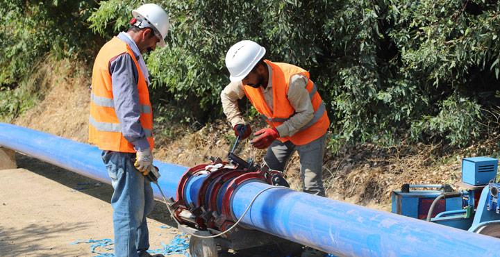 Yeni İçme Suyu Şebekesiyle Kırıkhan'da Su Sıkıntısı Yaşanmayacak